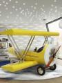 Sky B Plane dečiji krevet